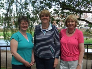 3 of the prize winners - Janice, Catherine and Helena
